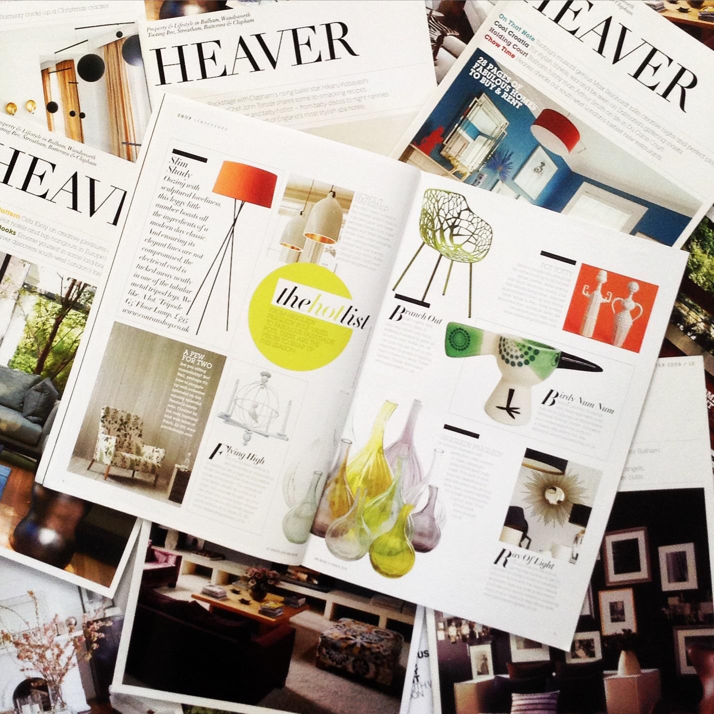 Heaver interiors hot list