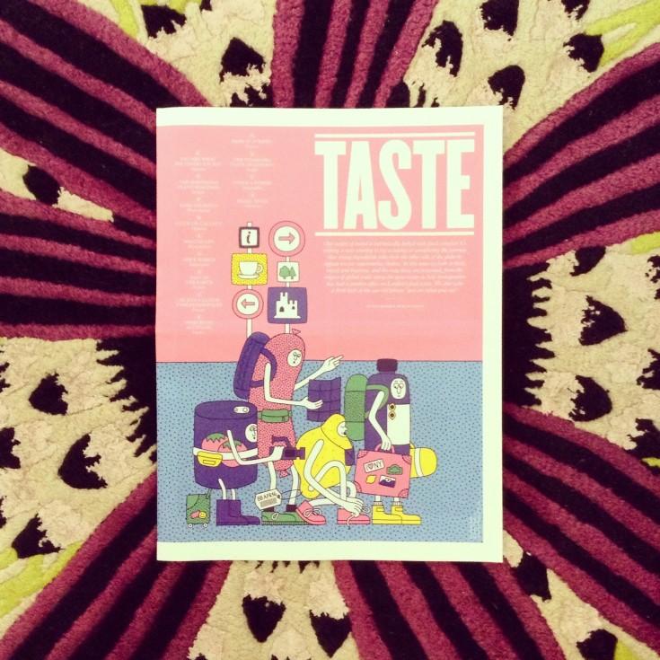 Taste foodie magazine